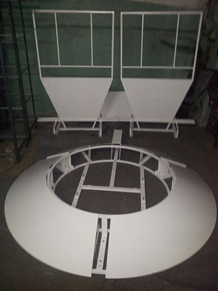 Каркас поворотного стола