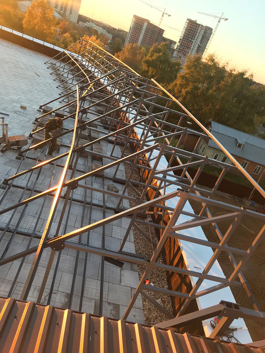 Крышная конструкция